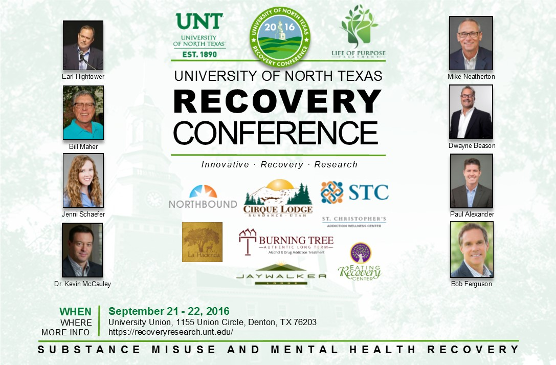 UNT Recovery Conference