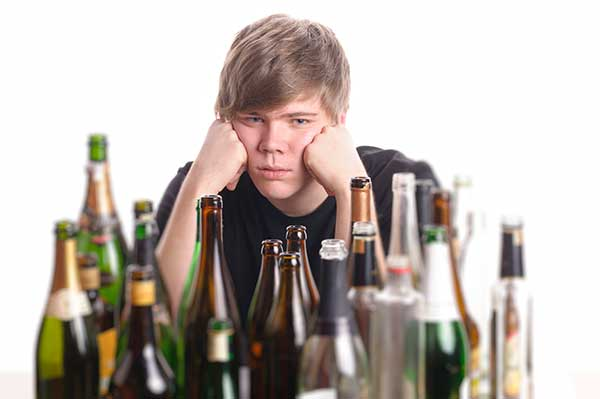 teenage alcoholism